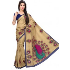 Deals, Discounts & Offers on Women Clothing - Gugaliya Self Design Art Silk Sari