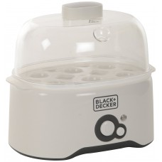 Deals, Discounts & Offers on Home Appliances - Black and Decker Egg Cooker White