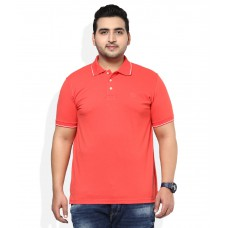 Deals, Discounts & Offers on Men Clothing - Alto Moda By Pantaloons Red Solid Polo T-Shirt