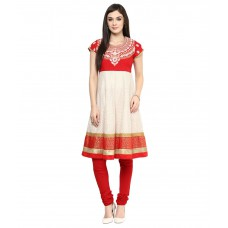 Deals, Discounts & Offers on Women Clothing - TRISHAA by Pantaloons  Chanderi Salwar Suit