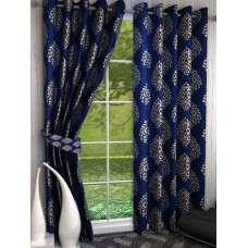 Deals, Discounts & Offers on Home Decor & Festive Needs - It's All About Blue Curtains This Season!
