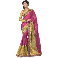 Deals, Discounts & Offers on Women Clothing - M.S.Retail Self Design Fashion Satin