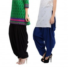 Deals, Discounts & Offers on Women Clothing - Radhika Cotton Patialas Pack Of 2