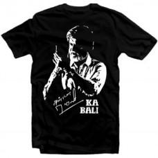 Deals, Discounts & Offers on Men Clothing - Upto 69% off on Kabali Rajnikant Black  Cotton Tshirt
