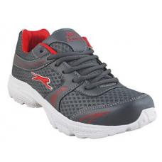 Deals, Discounts & Offers on Foot Wear - Slazenger Grey & Red Men Sports Shoes @ Rs.844/-