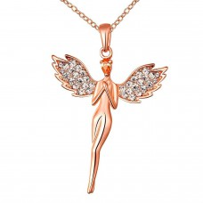 Deals, Discounts & Offers on Women - An angel pure soul with wings pendant