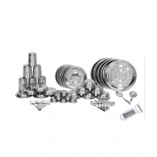 Deals, Discounts & Offers on Home Appliances - Flat 67% off on Scitek  Stainless Steel Dinner Set
