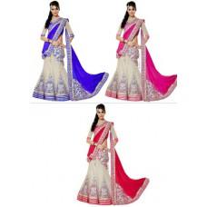 Deals, Discounts & Offers on Women Clothing - Upto 58% off on Thankar  Unstitched Lehenga Choli Set
