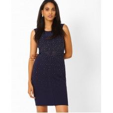 Deals, Discounts & Offers on Women Clothing - Embellished Bodycon Dress