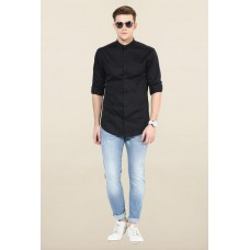 Deals, Discounts & Offers on Women Clothing - Jack & Jones Black Solid Casual Shirt