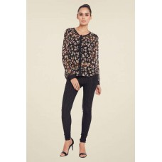 Deals, Discounts & Offers on Women Clothing - Upto 60% off on Globus Black Floral Print Shirt