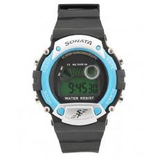 Deals, Discounts & Offers on Men - Sonata Black Round Digital Watch