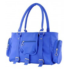 Deals, Discounts & Offers on Women - Flat 68% off on Speed Dot Blue P.U. Shoulder Bag