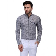 Deals, Discounts & Offers on Men Clothing - Edjoe  Printed Slimfit Casual/Club/Parywear Shirt