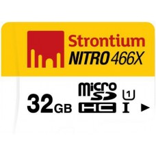 Deals, Discounts & Offers on Mobile Accessories - Flat 62% off on Strontium Nitro 32GB MicroSDHC Card