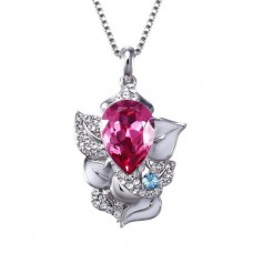 Deals, Discounts & Offers on Women - NEVI Swarovski Elements Ganesha Fashion Pendant Jewellery