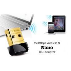 Deals, Discounts & Offers on Mobile Accessories - TP-Link  Wireless N Nano USB Adapter