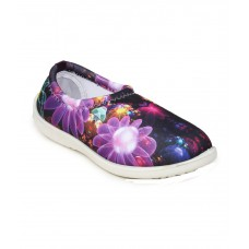 Deals, Discounts & Offers on Foot Wear - Histeria Purple Synthetic Leather Round Toe Casual Shoes