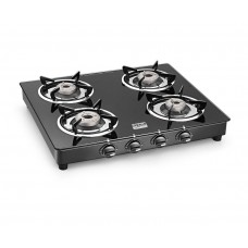 Deals, Discounts & Offers on Home & Kitchen - Cookplus Gas Stove Crystal Black-4 Gt Lava