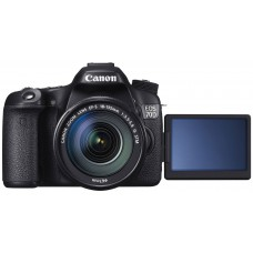Deals, Discounts & Offers on Cameras - Canon EOS 70D 20.2MP Digital SLR Camera (Black) with EF-S 18-135mm IS STM Kit Lens