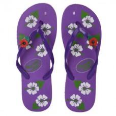 Deals, Discounts & Offers on Foot Wear - Cammy Karishma Womens Purple Jasmine Slippers