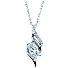 Deals, Discounts & Offers on Women - Kiara Jewellery  Sterling Silver Swarovski Pendant Without Chain