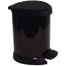 Deals, Discounts & Offers on Home Appliances - Curver 2160 Black 5 Ltr Deco Bin