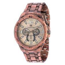 Deals, Discounts & Offers on Men - IIK COLLECTION Analog Copper Dial Watch