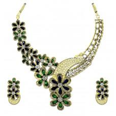Deals, Discounts & Offers on Women - Zaveri Pearls Designer Floral Necklace Set