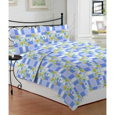 Deals, Discounts & Offers on Furniture - Bombay Dyeing Element  Floral Double Bedsheet