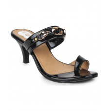 Deals, Discounts & Offers on Foot Wear - Do Bhai Black Heels