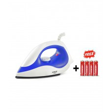 Deals, Discounts & Offers on Electronics - Flat 43% off on Eveready  Dry Iron White
