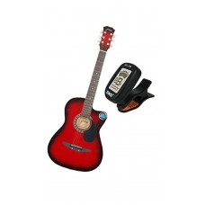 Deals, Discounts & Offers on Electronics - Jixing JXNG-RED-T Acoustic Guitar