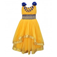 Deals, Discounts & Offers on Kid's Clothing - Kids Rock  Long Sleeveless Party Wear Dress