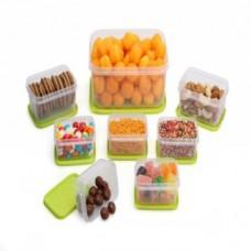Deals, Discounts & Offers on Home Appliances - Joyo Alfa Microwave safe Airtight 8 pcs Container Set