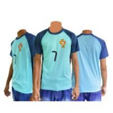 Deals, Discounts & Offers on Men Clothing - Portugal Football Fan Upper jersey