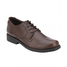 Deals, Discounts & Offers on Foot Wear - Delize Brown Genuine Leather Formal Shoes