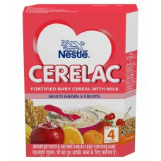 Deals, Discounts & Offers on Baby Care - Nestle Cerelac Infant Cereal Stage 4 Multi Grain Five Fruits - 300g