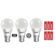 Deals, Discounts & Offers on Electronics - Eveready 7W 6500K 100 Lumens with Cool Day Light LED Bulbs
