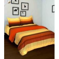 Deals, Discounts & Offers on Home Decor & Festive Needs - Tomatillo Polycotton Double Bedsheet Set