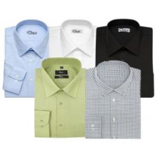 Deals, Discounts & Offers on Men Clothing - Men''s Formal Plain Shirts - Pack Of 5