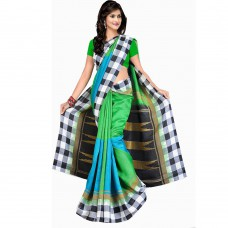 Deals, Discounts & Offers on Women Clothing - Patij Fashion Bhagalpuri Silk Saree With Cotton and Silk Blouse Piece