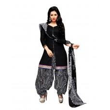 Deals, Discounts & Offers on Women Clothing - Drapes Women's Cotton Dress Material