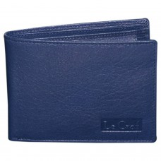 Deals, Discounts & Offers on Men - Le Craf Damon Navy Blue Men's Leather Wallet