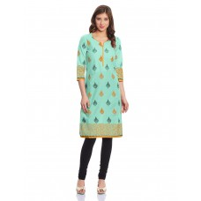 Deals, Discounts & Offers on Women Clothing - Rangriti Women's Straight Fit Kurta