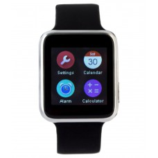 Deals, Discounts & Offers on Mobile Accessories - Arya uWear Bluetooth Smart Watch Silver