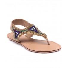 Deals, Discounts & Offers on Foot Wear - Flat 60% off on Catwalk Gold Flats