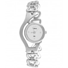 Deals, Discounts & Offers on Women - Glory Silver Metal Analog Watch