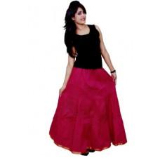 Deals, Discounts & Offers on Women Clothing - Decot Paradise Polka Print Women's Regular Pink Skirt
