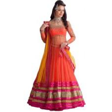Deals, Discounts & Offers on Women Clothing - Vistara LifeStyle Embroidered Women's Lehenga, Choli and Dupatta Set